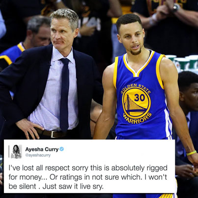Brian Windhorst Just Put Ayesha Curry In A BODYBAG