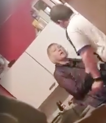 British F**kboy Beats Up His Grandmother