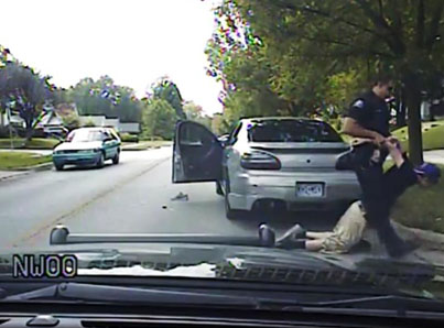 Dashcam Shows Cop Tasering Teen Into Coma