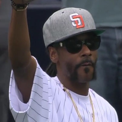 Snoop Dogg Throws Horrible First Pitch At MLB Game
