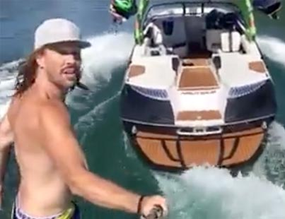 Rich Dude Ghost Rides His $135K Boat 😜👌