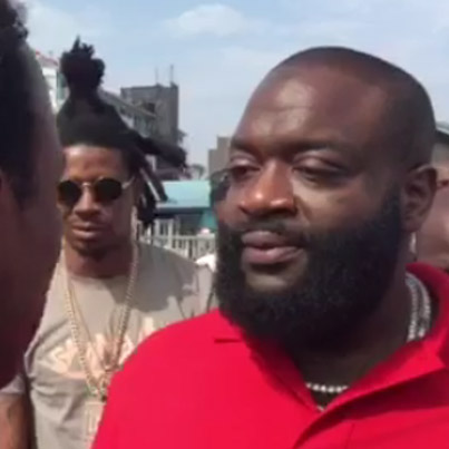 Homeless Rapper Discovered In Street Freestyle Signs To Rick Ross' MMG 👏