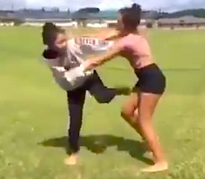 School Bully Gets Destroyed By BJJ Trained MMA Girl 😭💀