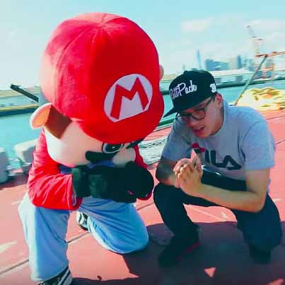 Super Mario World by Logic (Official Music Video)