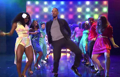 "Will Smith Makes The Most Epic ""Tonight Show"" Entrance Ever"