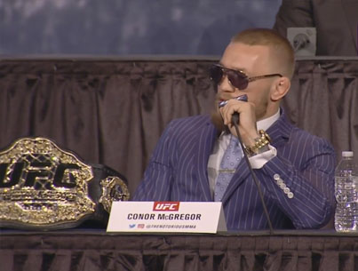 Conor McGregor Delivers Once Again At UFC 205 Press Conference 💪