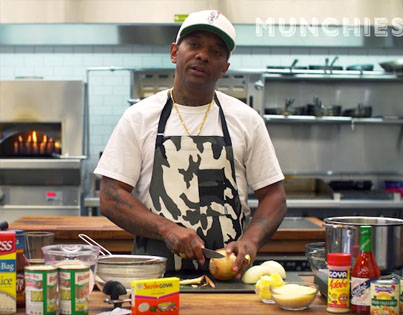 How To Make Prison BBQ Salmon With Mob Deep's Own Prodigy