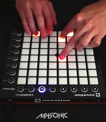M4SONIC Lays Down A Sick Live Tune On The Launchpad 🔥