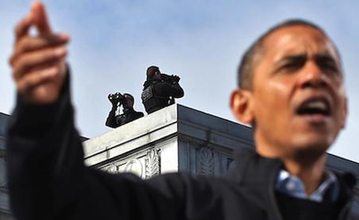 Sharpshooters: Secret Service Sniper Team Explain Role In President's Protection
