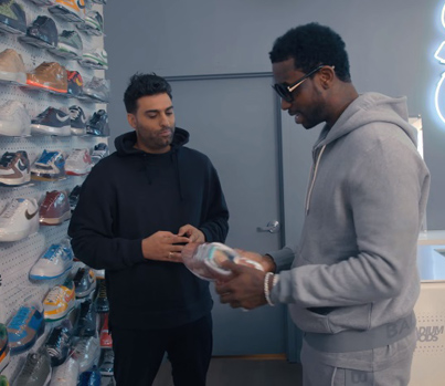 Sneaker Shopping With Gucci Mane 😎🍦💰