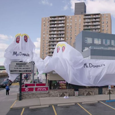 Burger King Dresses Up As McDonald's For Halloween 👻🎃