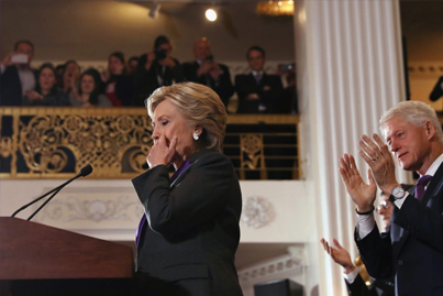 Hillary Clinton Accepts Defeat In Emotional Concession Speech 🇺🇸