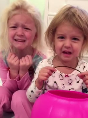 """Jimmy Kimmel's 2016 Edition Of """"I Told My Kids I Ate All Their Halloween Candy"""" 😂😂😂"""