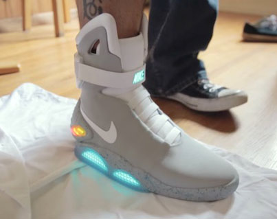 This Guy Was One Of The Lucky Winners Of The Nike Mag Lottery 🔥🔥🔥