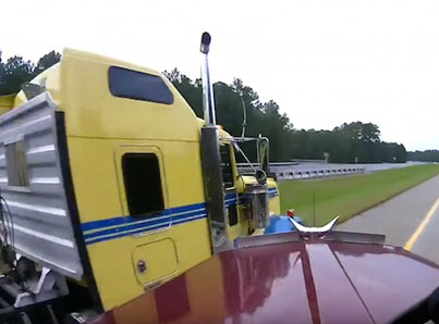 Two Quick Thinking Truckers Prevent A Massive Crash