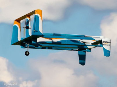 Amazon's Prime Air Completes Its First Drone Delivery