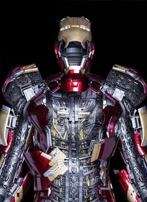Chinese Toy Company Develops A $360K Life-Sized Iron Man Suit