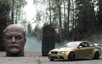 Drifting In A Soviet Missile Base