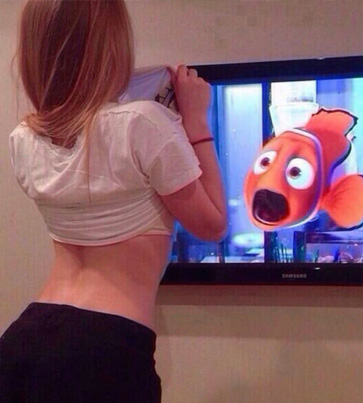 FINDING FISH TITTIES 😂😂😂