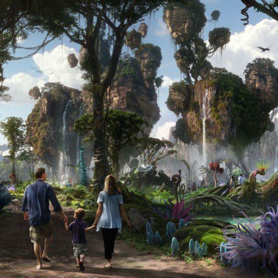 Go Behind The Scenes At Disney's Stunning Pandora Theme Park