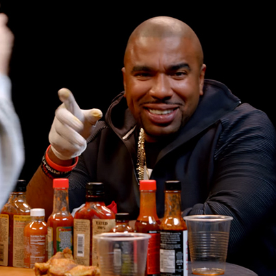 N.O.R.E. Gets Wasted While Eating Spicy Wings 😂🔥🍗