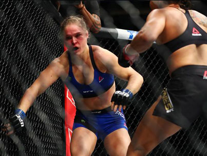 Painful Audio Of Rousey's Trainer Reacting To Nunes Loss