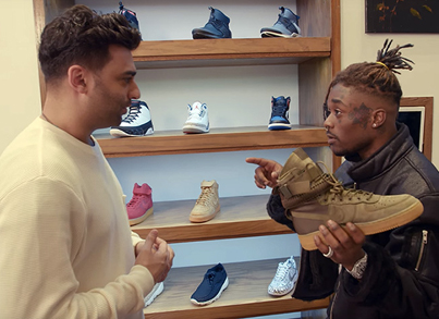SNEAKER SHOPPING WITH LIL UZI VERT 💎👌