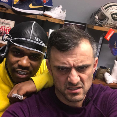 GaryVee And A$AP Ferg Talk Instagram 💯🔥👌