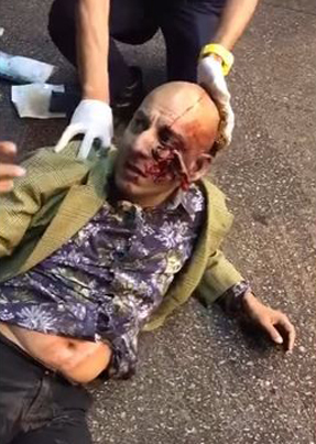 Indian Man Is Run Over By A Van In Hong Kong 💀💀💀