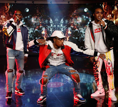 Migos Performs 'Bad And Boujee' On 'Kimmel' 🙏🙏🙏