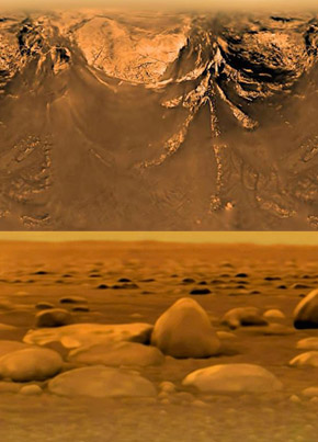 Real Or Fake? NASA Finally Shares Footage Of Its 2005 Landing On Saturn's Moon