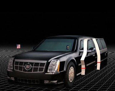 President Trump's 'Cadillac One' Will Come Stocked With Emergency Blood 😳😳😳😳