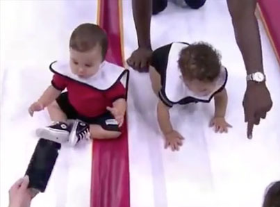 THE GREATEST BABY RACE OF ALL TIME 👶👏👏