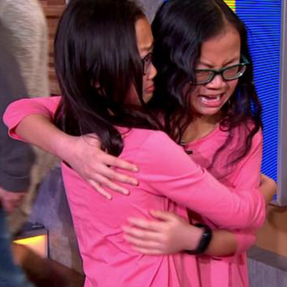 Twin Sisters Separated At Birth Reunite On Good Morning America 💞💞💞