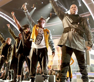 Grammys 2017: Busta Rhymes Called Out 'President Agent Orange' For His 'Muslim Ban'
