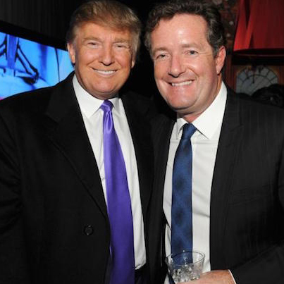 Comedian Goes Off On Piers Morgan For Defending Donald Trump 😭😭😭