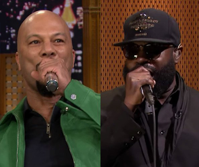 Common Played 'Wheel Of Freestyle' On 'Fallon' And Killed It 🙏🙏🙏