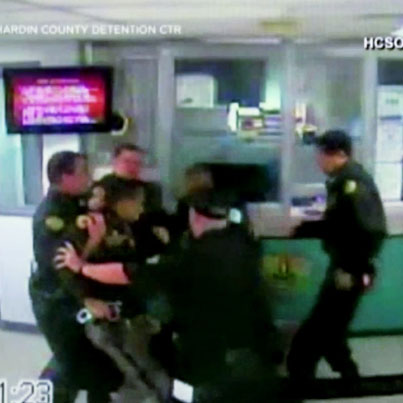 Jail Brawl: Deputies Fight In Front Of Inmates 💀💀💀