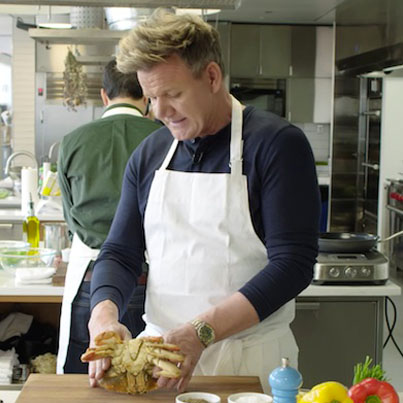 Gordon Ramsay Challenges Amateur Cook 😂😂😂