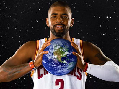 Kyrie Irving Thinks The Earth Is Flat 🤔🤔🤔