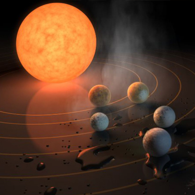 NASA Finds Entire Solar System That Could Support Alien Life 👽👽👽