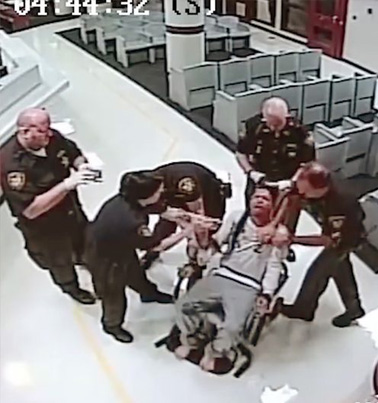 Ohio Deputies Pepper Spray Man Strapped In Restraint Chair