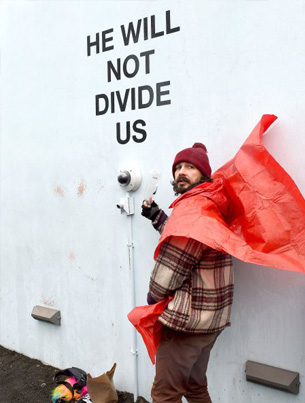 He's Back: Shia LaBeouf Relaunches Anti-Trump Livestream In New Mexico 🇺🇸