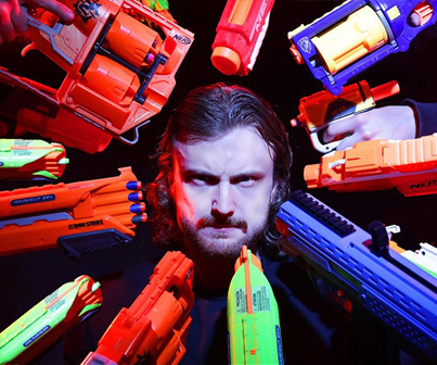 'John Wick' Remade With Nerf Guns 🔥🔥🔥
