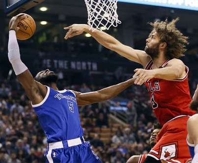 LOPEZ AND IBAKA THROW HANDS 🏀😳👊