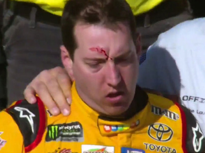 FIGHT IN THE NASCAR 💀💀💀