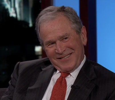 President George W. Bush Reveals If Impressions Bothered Him 😂😂😂