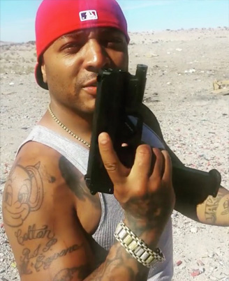 Rapper 40 Glocc Cant Shoot For Sh*t 🎯💥🔫😅😂