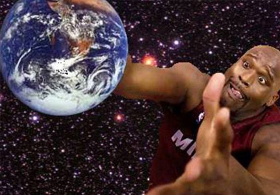 SHAQ BELIEVES THE EARTH IS FLAT 😳😳😳