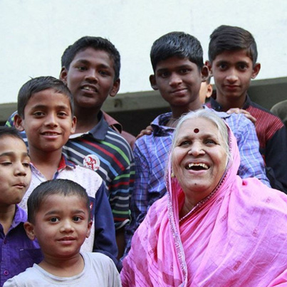The Indian Mother With 1,400 Children 💜💜💜